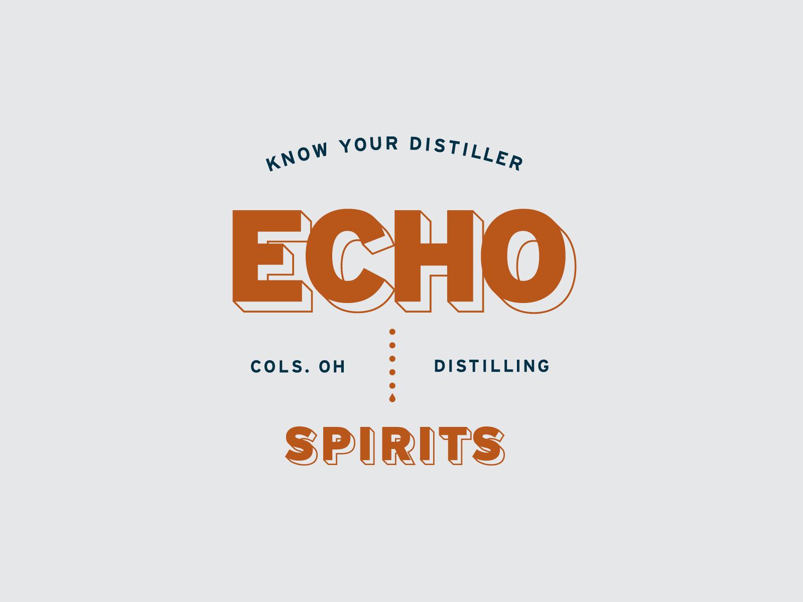 Echo Spirits apparel design