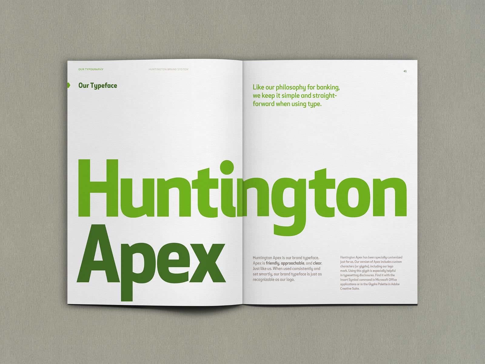 Huntington Bank brand guides