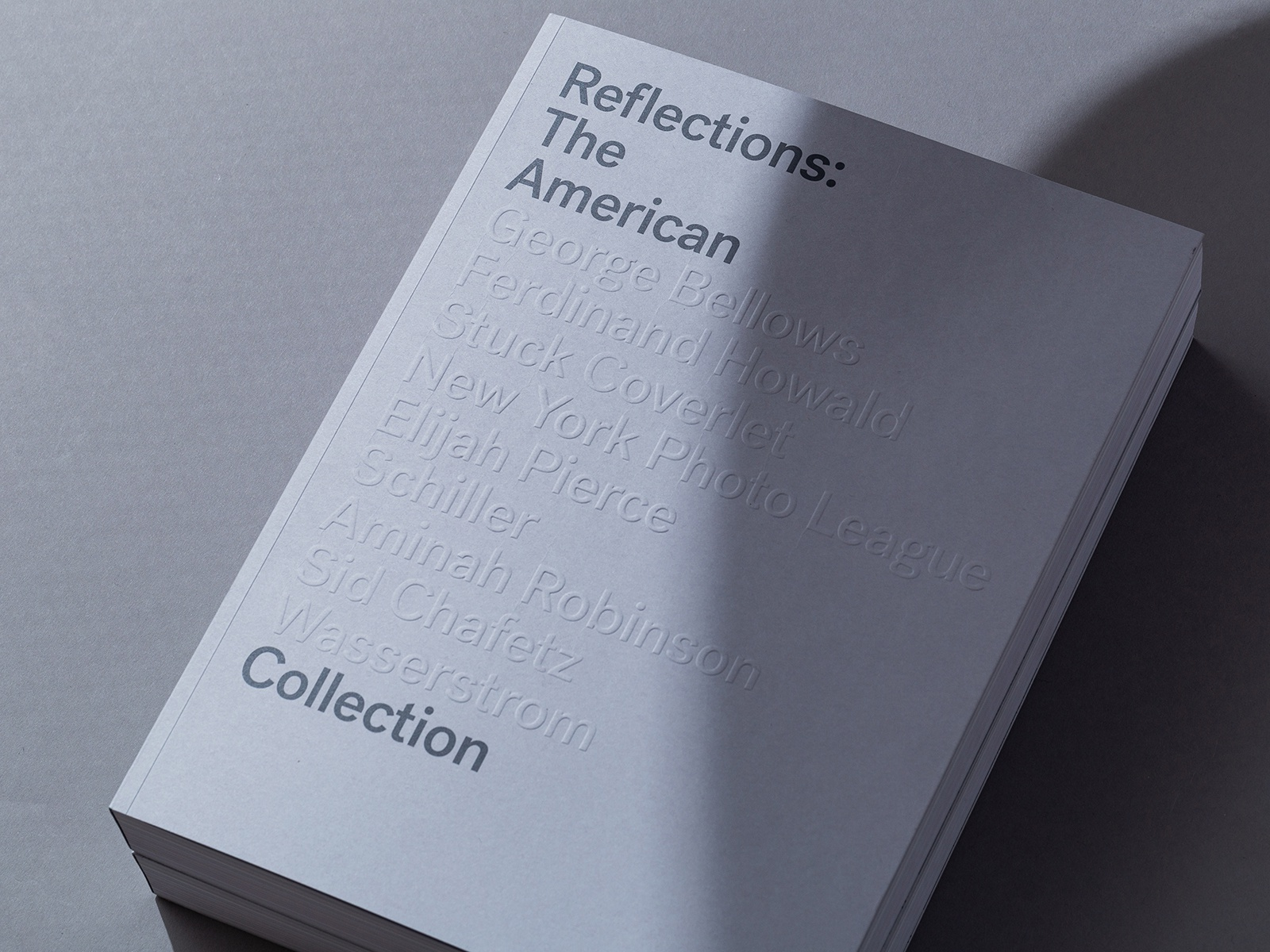 Reflections Book Design