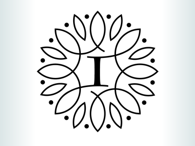 Kevin Creative - Inner Temple Coaching symbol logo design logo mentor leaf coaching motivational circle circular nature