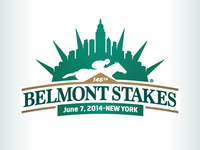 Kevincreative - Belmont Stakes 2014 logo