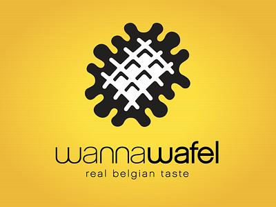 Kevincreative - Wannawafel Logo logo design restaurant food logo wafel waffle