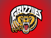 Kevincreative -  Grizzlies Hockey logo