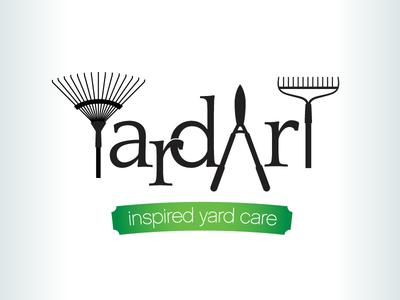 Kevincreative - Yard Art logo lawn care logo design green landscaping logo
