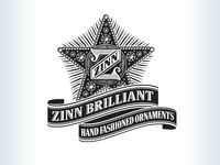 Kevincreative - Zinn Brilliant Ornaments Logo