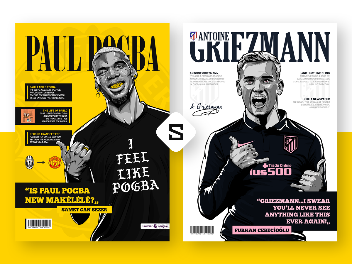 Illustration & Design - Magazine Collection by Samet Can