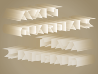 Avantguardians Typography & CI Design 2