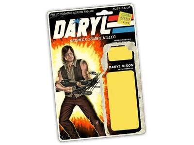 The Walking Dead GI JOE action figure backer card