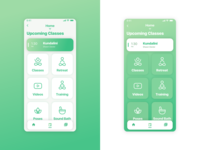 Yogaworks Redesign - Home