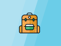 Camping Icon- Backpack