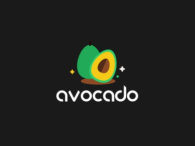 Day 24 - Avocado #ThirtyLogos thirtylogos logo avocado conception challenge