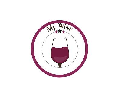Day 26 - My wine #ThirtyLogos thirtylogos logo wine conception challenge
