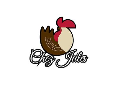 Day 30 - Chez Jules #ThirtyLogos thirtylogos logo conception challenge