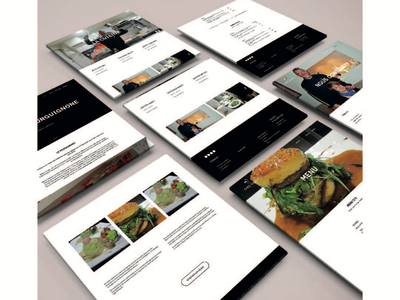 Visual identity - Restaurant Chez Jules