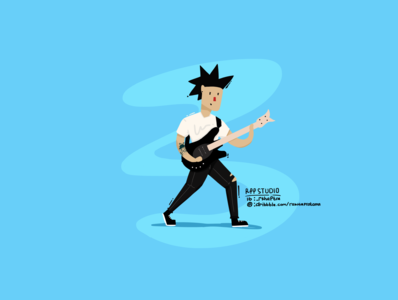 Jhohnny Christ Flat Design Character by RPP STUDIO