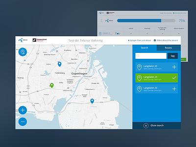 Din dækning ux ui user experience telenor copenhagen windows tablet