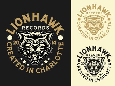 Lionhawk Records Badge