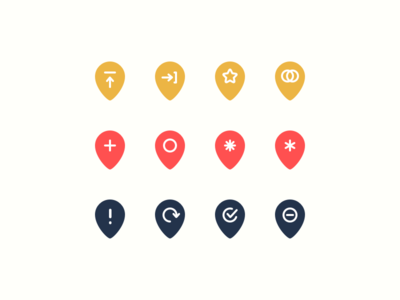 Rejected Map Icons