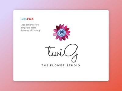 Twig flower studio logo