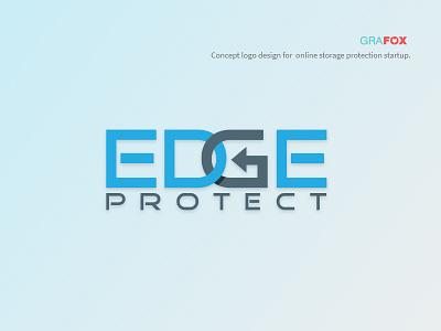 Edgeprotect design logo design logo edge device protection storage