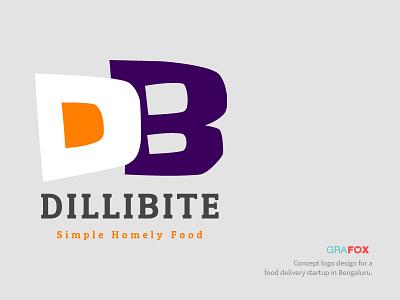 Dillibite food delivery logo design logo homely food food