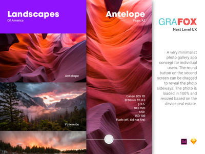 Photopan photo collection image drag-able photo gallery app