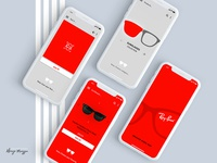 Ray-Ban Glasses UI/UX App Concept ...