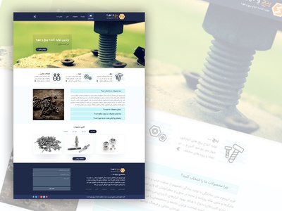 Bolts manufacturer minimal web UI design ...