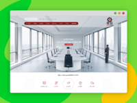 IRAQ web design UI UX concept ...
