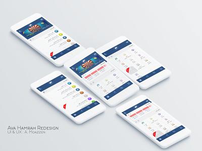 Ava Hamrah   Mobile Banking UI UX Concept .... pay طراح رابط کاربری iran payment ui wallet banking app رابط کاربری payment app mobile banking payment
