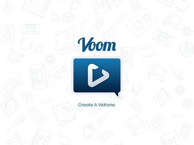 Voom App Icon app icon vector logo graphic design ui dailyui