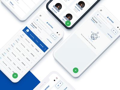 6 Quotedd Dashboard UIUX cool conceptual flat modern graphics rabbixel saas design saas app saas uidesign ui  ux ui app design app