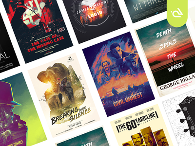 Poster Designs - July 2107 - July 2018 album cover singles movie poster movie book cover cover design illustration graphics vector poster