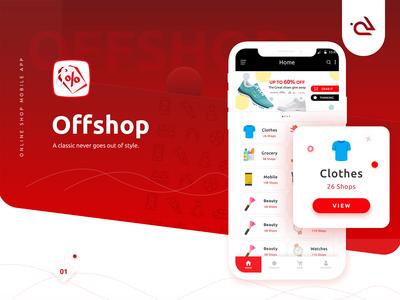Offshop App Ui Ux Design