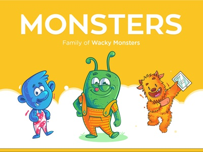 Vector Monster Characters