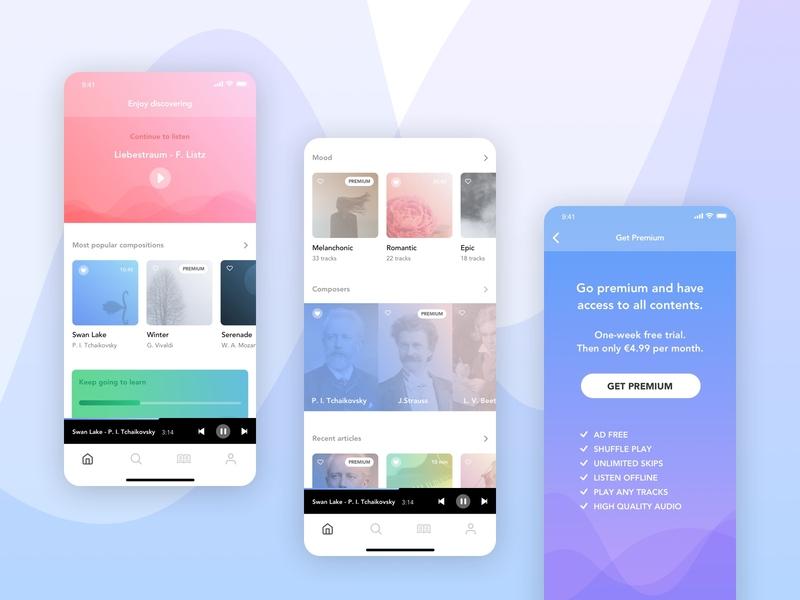 Croma - Classical music app