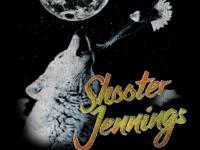 Shooter Jennings Wolf Eagle Gas Station Tshirt