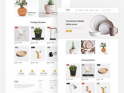 AS  Store - Furniture eCommerce sokar web-design design ux  ui furniture design ui web deisgn ecommerce shop furniture store