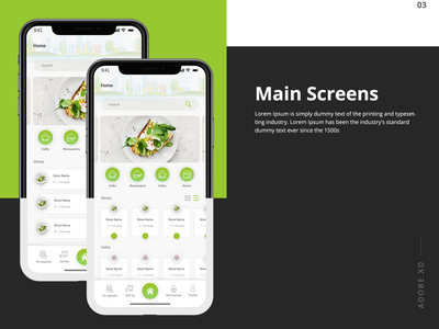 Delivery App ux app ux  ui ui-ux ui design home delivery app