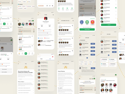 Clubhouse App Redesign chat meeting audio chat meeting rooms meeting sokar concept design house concept design android app ios app app redesign clubhouse sound designuiux profile