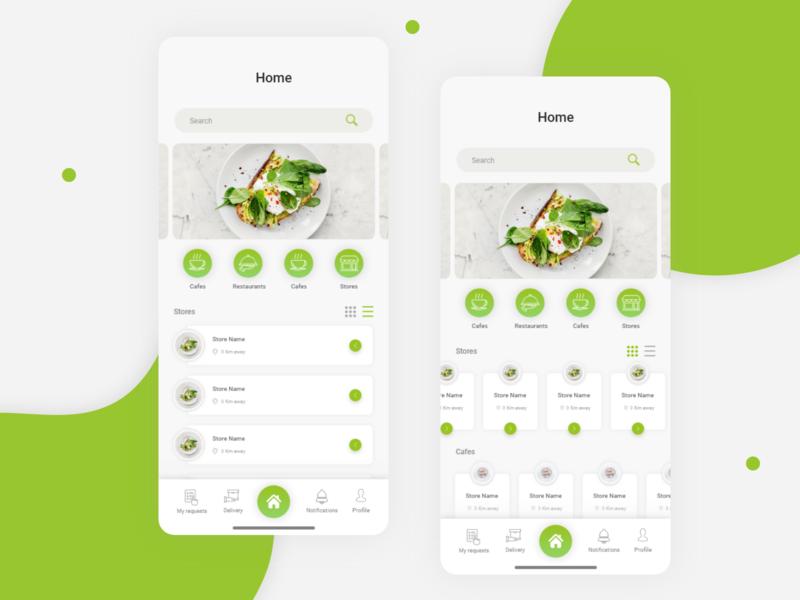 Delivery App delivery homedesign home screen behance uiuxdesign application design app design designer sokar delivery app adobe xd vector web-design app ui-ux ui ux  ui ux design