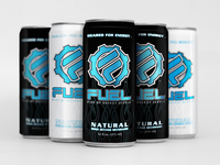 Fuel Energy Beverage Packaging Design