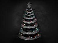 Brake Rotor Christmas Tree