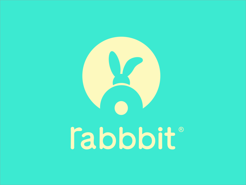 Children's wear brand - Rabbbit rabbit design logo brand vi