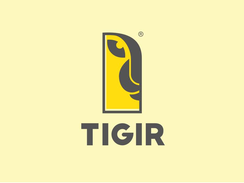 Men's clothing brand-TIGIR tiger design vi brand logo