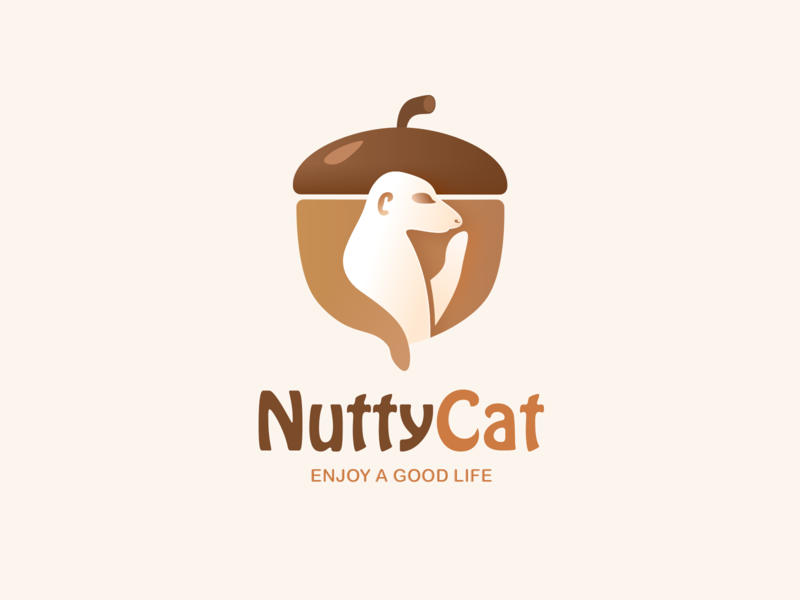 NuttyCat_Dried Fruit Brand mongoose dried fruit dried fruit brand illustration brand design vi logo