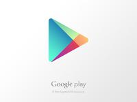 Freebie: Google Play Layered Vector