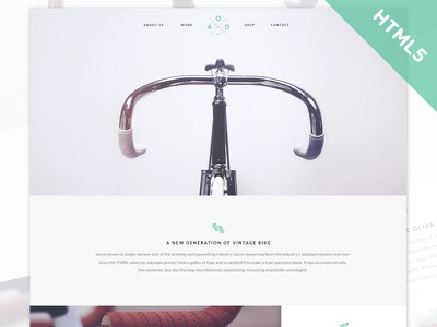 Freebie: Yebo Flat HTML5 CSS3 Template freebie html5 css3 jquery sublime text codekit bootstrap responsive