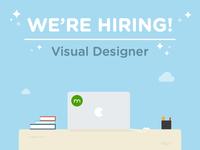 We're Hiring a Visual Designer @ Domain