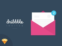 Dribbble Invites x 2 Giveaway!